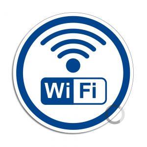 Schild WiFi-WLan