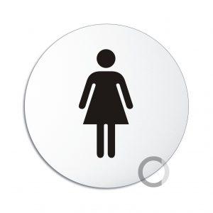 Schild WC Damen