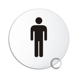 Schild WC Herren