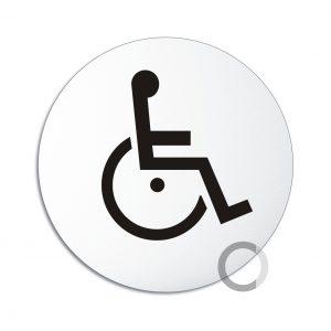 Schild Rollstuhl WC