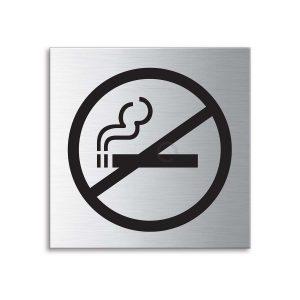 Schild Rauchen verboten 70 x 70 mm